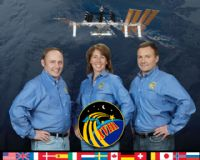 International Space Station Expedition 18 Official Crew Photograph #2